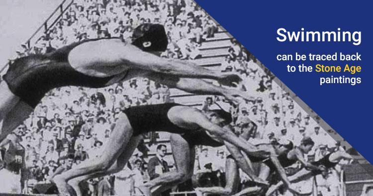 swimming history