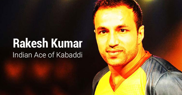 Rakesh Kumar Indian Kabaddi Champion