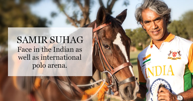 Samir Suhag Indian Polo Player