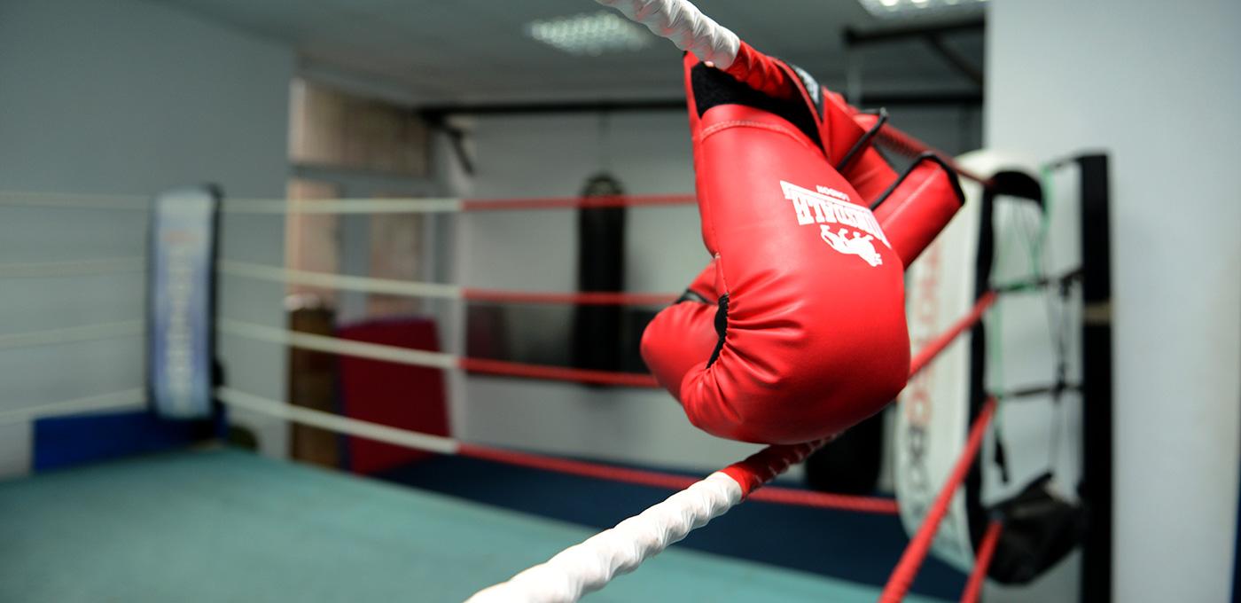 Boxing ring (image courtsey dynamicsgym.co.uk)