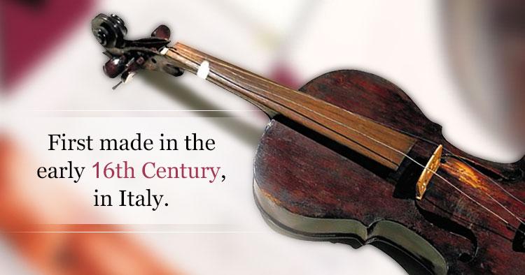 violin origin