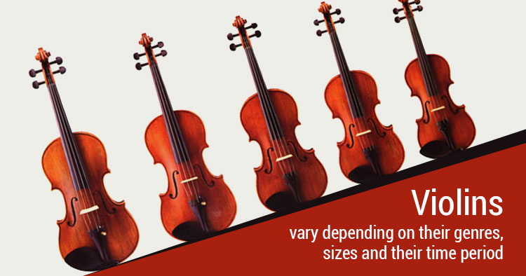 types of violin