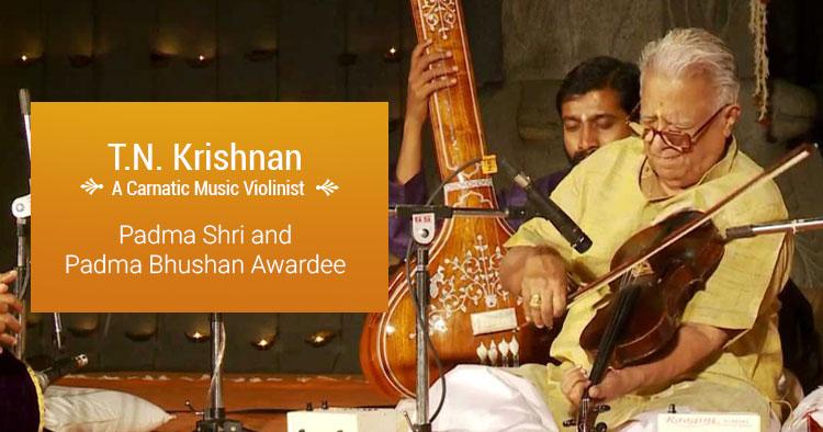 violinist t.n. krishnan