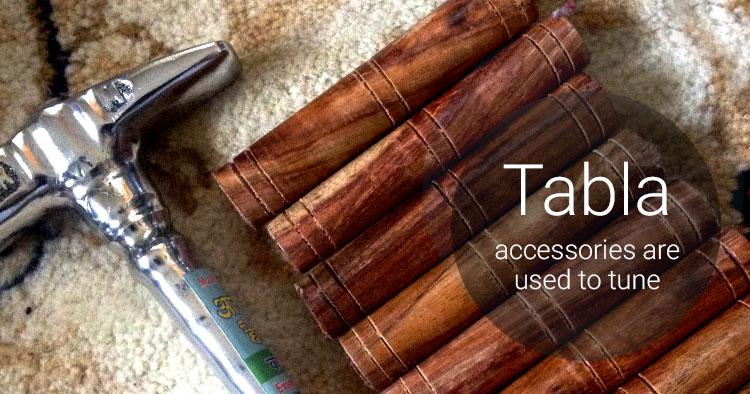 tabla accessories