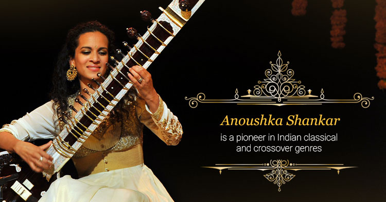 sitar player anoushka shankar