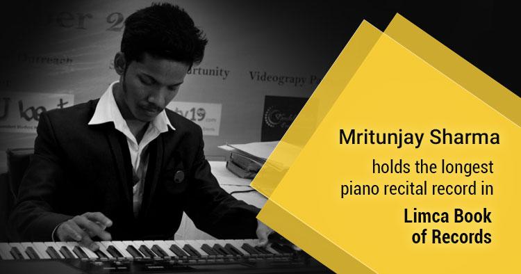 mrityunjay sharma indian piano record