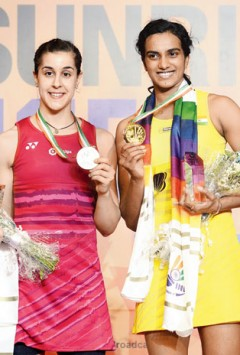 India Open Superseries badminton title