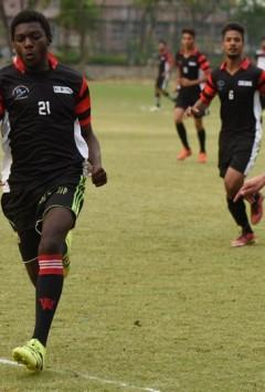 University to play a football match