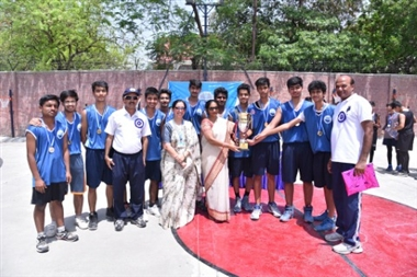 5th inter school basketball competition Noida