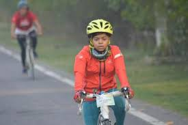 100-km cyclothon in Gzb