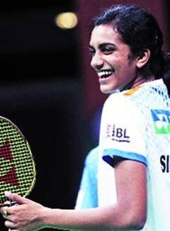 sindhu scond in Badminton world ranking