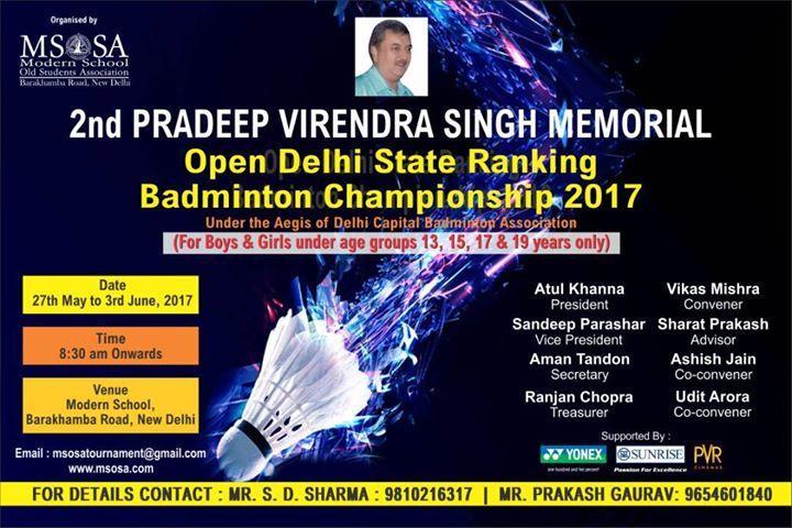 Delhi State Badminton Championship