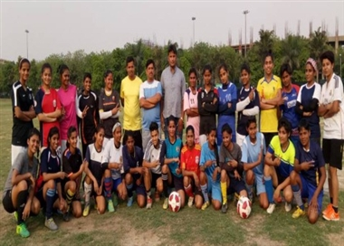 Declared team for coaching camp, four players included in the district