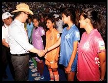 CAPF Football Tournament delhi