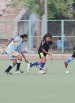 Gurugram Central Vidyalay U19 Gilrs Hockey competition