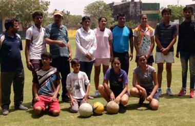 District level sports trials