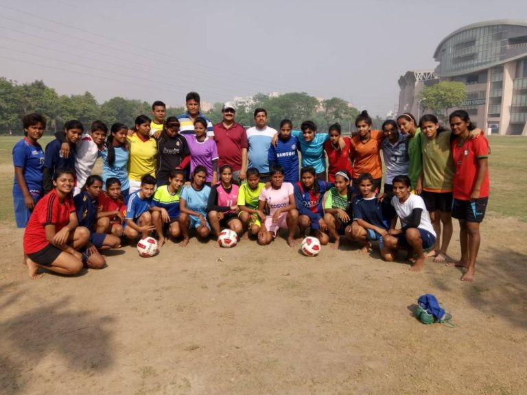 UP womens football team