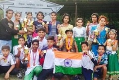 boys and girls class wrested at Parcham