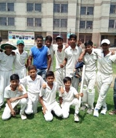 Delhi Blaster, Cricket, Tekchand Memorial Cricket Tournament