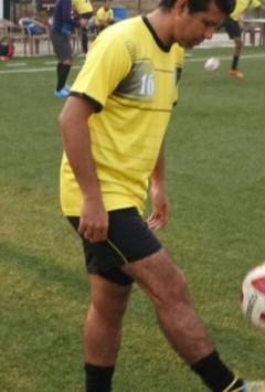 City footballer betting in the Delhi football league