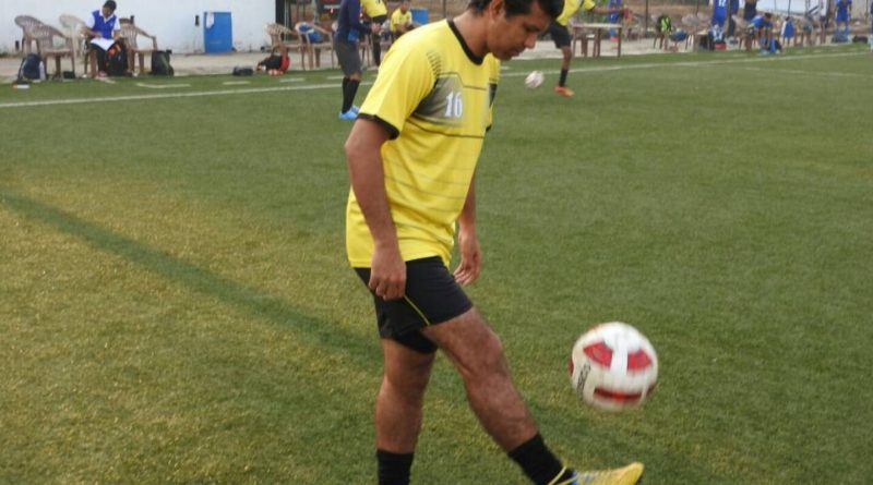 City footballer betting in the Delhi football league