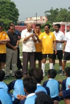 UPSC will track football talent in districts of Purvanchal