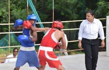 Haryana Title junior Boxing competition
