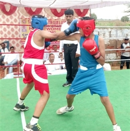 District team selection boxing match