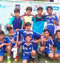 Khaitan Public School reached the semi-finals
