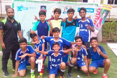 Khaitan Public School reached the semi-finals