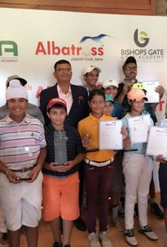 NGC golfers won three titles in Albatros Golf