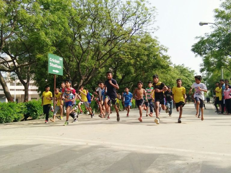 Sun and Shruti became champion in the Sunday race