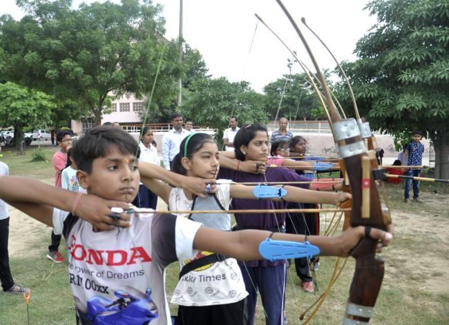 Holy Child School were dominated, In Taekwondo