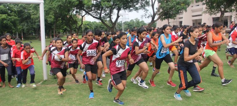 Major Dhyanchand Inter School Cross Country Race