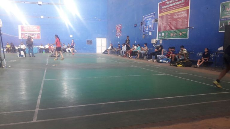 Anusha and Sonali reach quarter-finals of state junior badminton