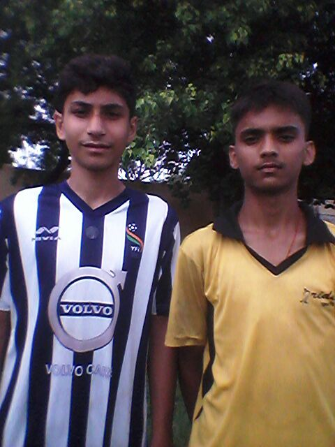 Anshum and Rudra state include in under-16 midfielder