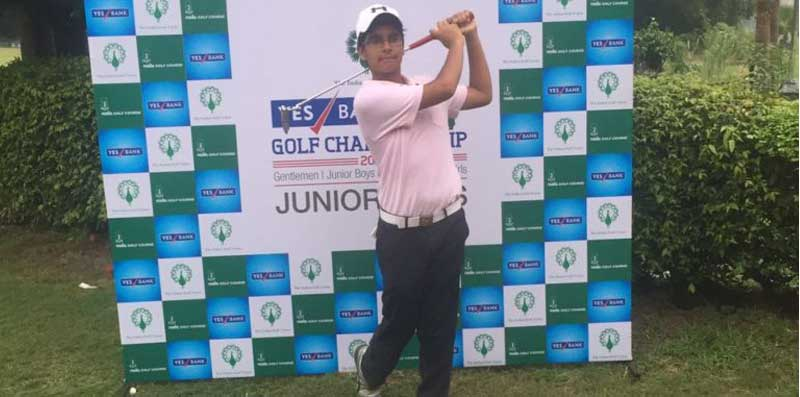 IGU Yes Bank Northern India India Junior Boys Golf Championship