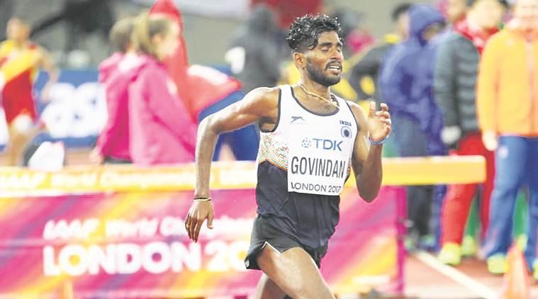 Govindan Lakshmanan out, but meets his idol Mo Farah