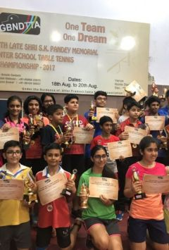 District Inter-School Table Tennis Championship
