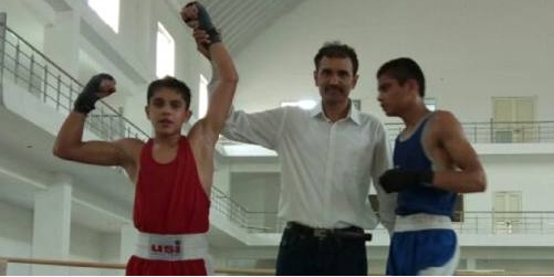 Boxer Yash won gold in state level competition