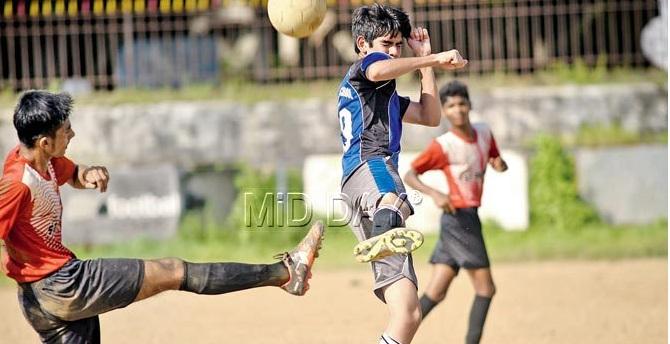 Ahmed Sailor boys knockout football tournament