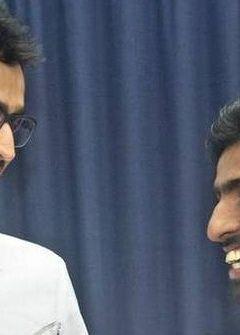 Sathiyan, Sarthak felicitated