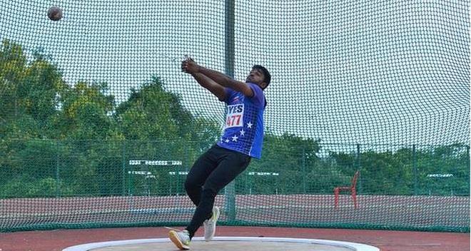 Ajay Sagar sets high-jump record