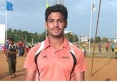 Nagendra breaks under-16 discus record