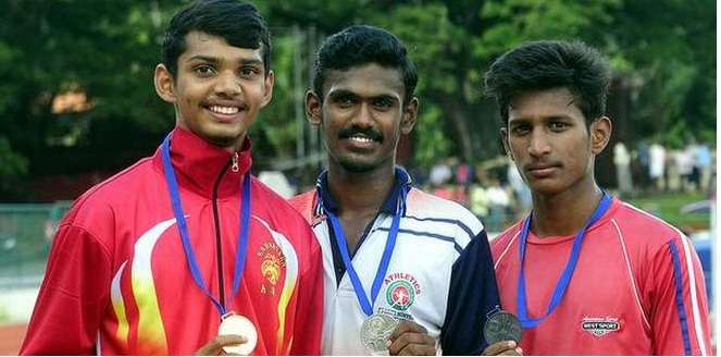29th South Zone junior athletics meet