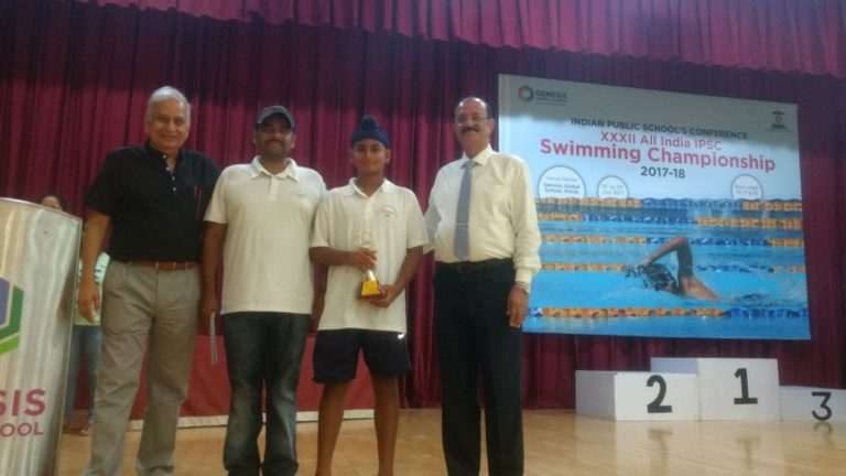 Swimmers of Genesis swim in Delhi and won 15 medals