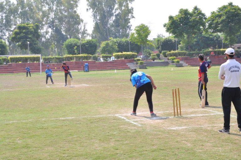 School of Engineering won by 5 wickets
