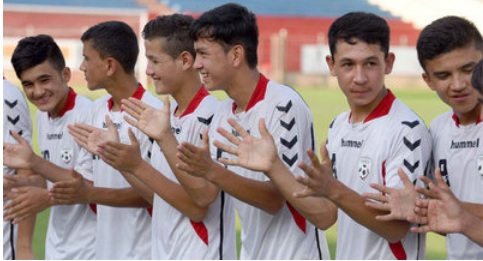 Teenage boys from Kabul on a winning mission