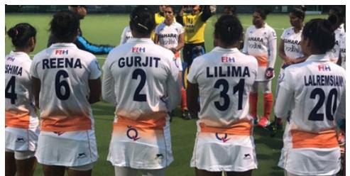 Indian hockey women's team