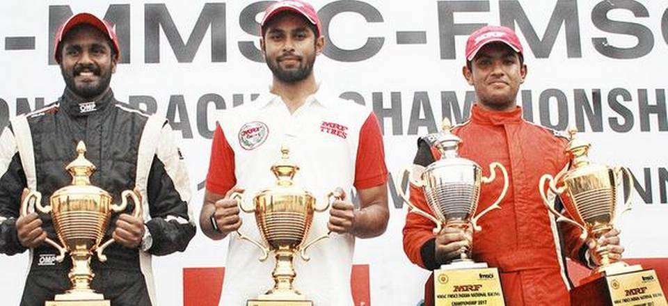 Arjun seals Touring Cars title